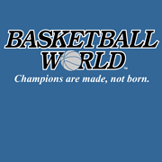 BASKETBALL WORLD T-SHIRT (INDIGO BLUE)